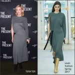 Cate Blanchett In Louis Vuitton At  'The Present'  Broadway  Opening Night