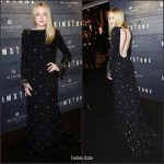 Dakota Fanning  In Miu Miu At The Amsterdam Brimstone Premiere