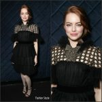 Emma Stone In Gucci At The  6th annual AACTA International Awards  In LA