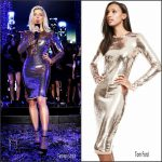 Fergie In Tom Ford  Hosting  Dick Clark's New Year's Rockin' Eve