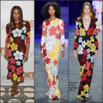 Gabrielle Union  In Naeem Khan At The Being Mary Jane New York Screening