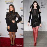 Gina Rodriguez In Jill Stuart  At Moet Moment Pre Golden Globe Party in LA