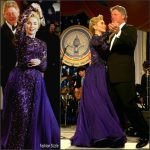 Hillary Clinton at the Inaugural Ball in 1993