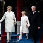 Hillary Clinton In Ralph Lauren At The  Presidential Inauguration