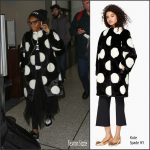Janelle Monáe  In Kate Spade New York at LAX