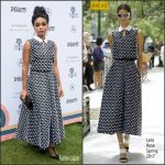 Janelle Monáe  In Lela Rose   At  Creative Impact Awards & 10 Directors To Watch