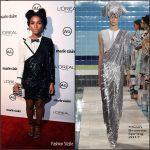 Janelle Monáe  In Thom Browne  At The  Marie Claire's Image Maker Awards 2017