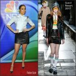 Jennifer Lopez  In  Gucci At the NBCUniversal Winter Tour