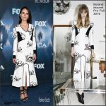 Jordana Brewster  In Roland Mouret At FOX Winter TCA All Star Party