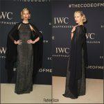 Karolina Kurkova In Michael Kors At IWC Schaffhausen Gala 2017