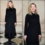 Kirsten Dunst In Christian Dior At Christian Dior  Spring 2017 Couture  Fashion Show