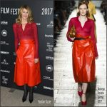 Laura Dern  In Bottega Veneta At  'Wilson'   Sundance 2017  Premiere