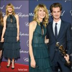 Laura Dern  In J. Mendel At the Palm Springs Film Festival Film Awards Gala