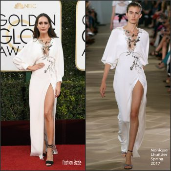 louise-roe-in-monique-lhuillier-at-the-2017-golden-globes-awards