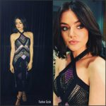 Lucy Hale In Loudebetoly Hosting  New Year's Rockin' Eve