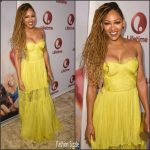 Meagan Good In Maria Lucia Hohan  At  Lifetime's 'Love By The 10th Date' Screening