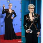 Meryl Streep In Givenchy At 2017 Golden Globe Awards