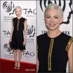 Michelle Williams  In Louis Vuitton At The New York Film Critics Circle Awards