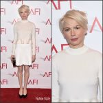 Michelle Williams In  Louis Vuitton At The 2016  AFIA wards