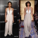 Naomie Harris  In Brandon Maxwell  At The National Board Of Review Gala In New York