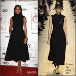 Naomie Harris In Christian Dior  At  The London Critic's Circle Film Awards