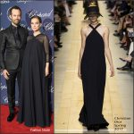 Natalie Portman  in   Christian Dior At  Palm Springs Film Festival Film Awards Gala