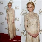 Nicole Kidman In Prada At The 28th Annual Producers Guild Awards