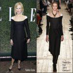 Nicole Kidman In Valentino At  Elle Women In Television 2017 Celebration