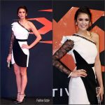 "Nina Dobrev  In Elie Saab At ""XXx: The Return of Xander Cage"" Mexico City Premiere"