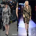 Paz Vega In  Jean Paul Gaultier  At Jean-Paul Gaultier S/S 2017 Paris Couture Show