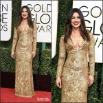 Priyanka Chopra In Ralph Lauren At the 2017 Golden Globe Awards