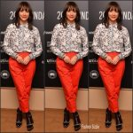 Rashida Jones  In Thakoon  At ' Docuseries' Sundance 2017 Showcase