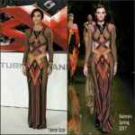 "Ruby Rose  In Balmain At The ""xXx: Return of Xander Cage"" London Premiere"