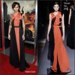 Ruby Rose  In Vionnet At Resident Evil: The Final Chapter LA  Premiere