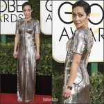 Ruth Negga in Louis Vuitton At Golden Globe 2017 Awards