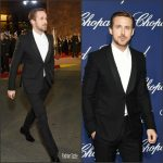 Ryan Gosling  In Gucci At The  Palm Springs Film Festival Film Awards Gala