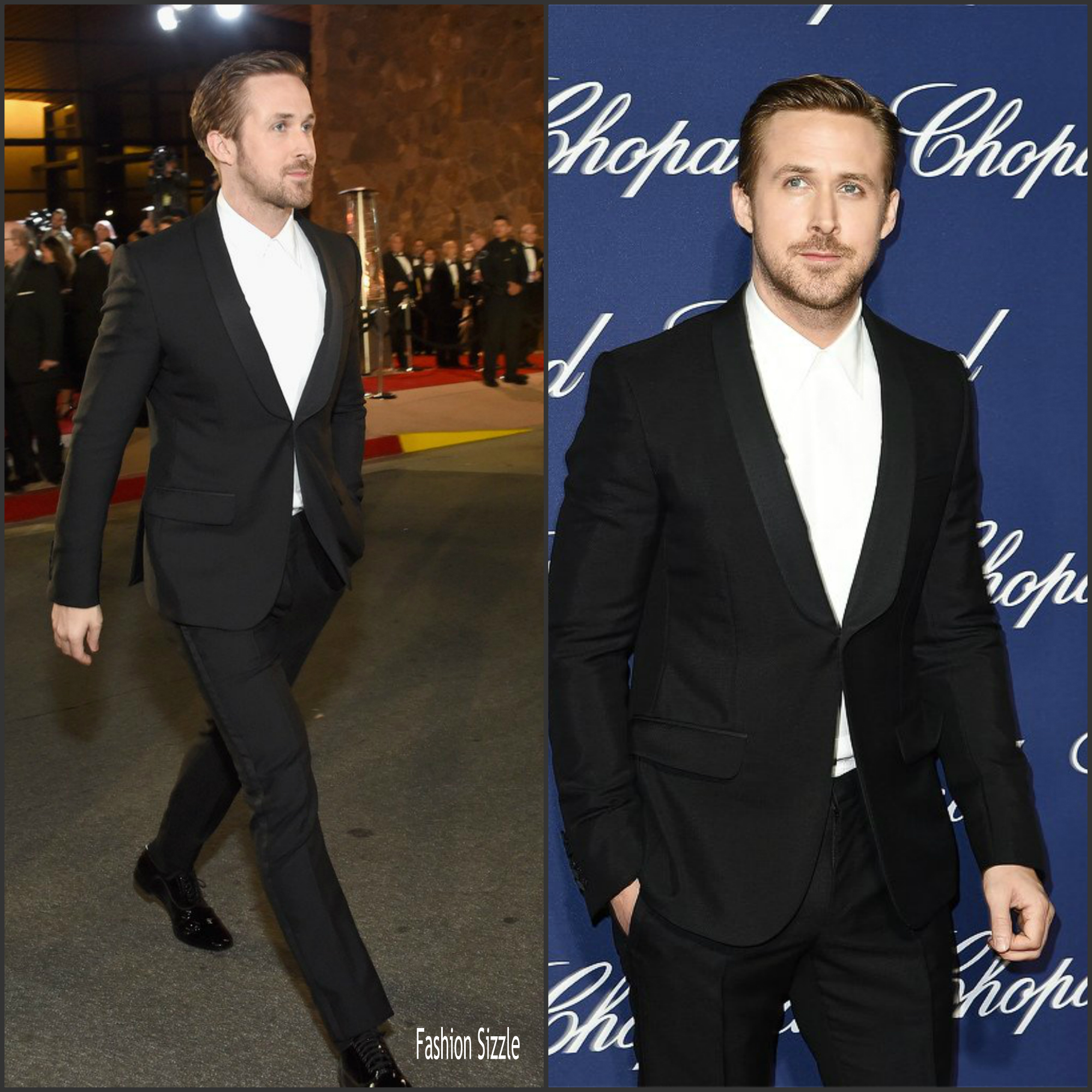 Ryan Gosling In Gucci At The Palm Springs Film Festival -9038