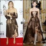 Sarah Jessica Parker In J Mendel  At The  2017 People's Choice Awards