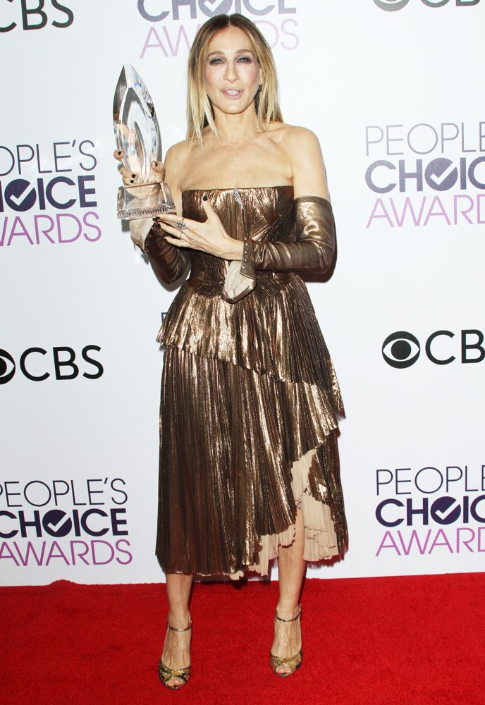 Sarah Jessica Parker In J Mendel At The 2017 People's ...
