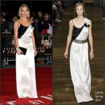 Sienna Miller In Lanvin At Live By Night London Premiere