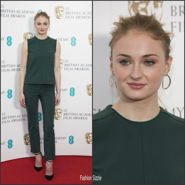 sophie-turner-in-victoria-beckham-at-bafta-2017-nomination-announcements-700×700