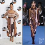 Tracee Ellis Ross  In Roksanda At Disney/ABC TV TCA Winter 2017