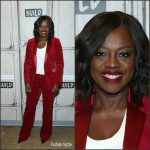 Viola Davis In Michael Kors At BUILD Series In New York
