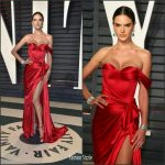 Alessandra Ambrosio  In Ralph and Russo   – 2017 Vanity Fair Oscar Party