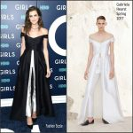 "Allison Williams In Gabriela Hearst At ""The  Girls""  New York Premiere"