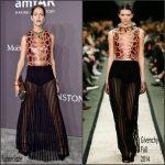 Amanda Wellsh  In   Givenchy  – 2017 amfAR New York Gala