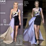 Amber Valletta  In Atelier Versace  – 2017 amfAR New York Gala