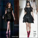 Anna Kendrick In Fendi At  Late Night with Seth Meyers