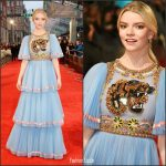 Anya Taylor-Joy In Gucci – 2017 BAFTAs
