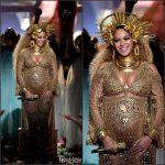 Beyoncé  In Peter Dundas Performing At The 2017 Grammy Awards